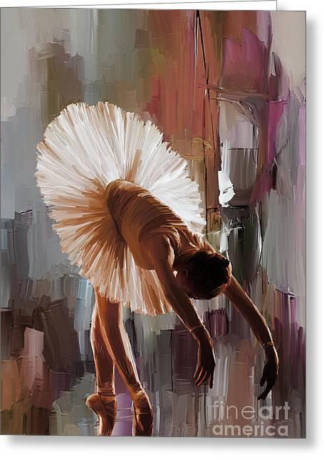 Ballerina 333g Greeting Card by Gull G