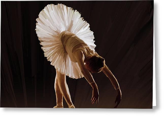 Ballerina 4321o Greeting Card by Gull G