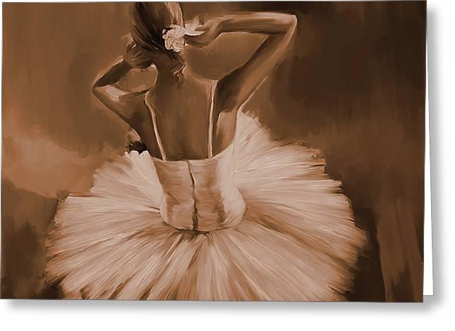Ballerina Dance 0444c Greeting Card by Gull G