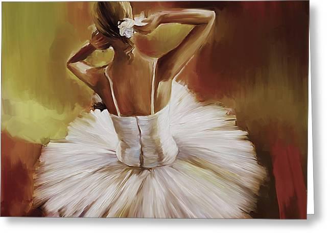 Ballerina Dance 0444g Greeting Card by Gull G