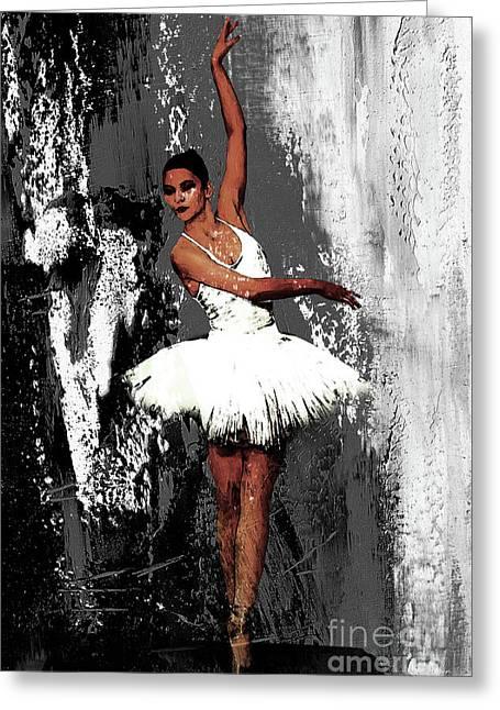 Ballerina Dance 073 Greeting Card