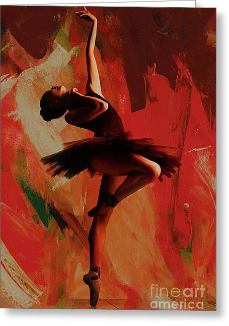 Ballerina Dance 0800 Greeting Card by Gull G