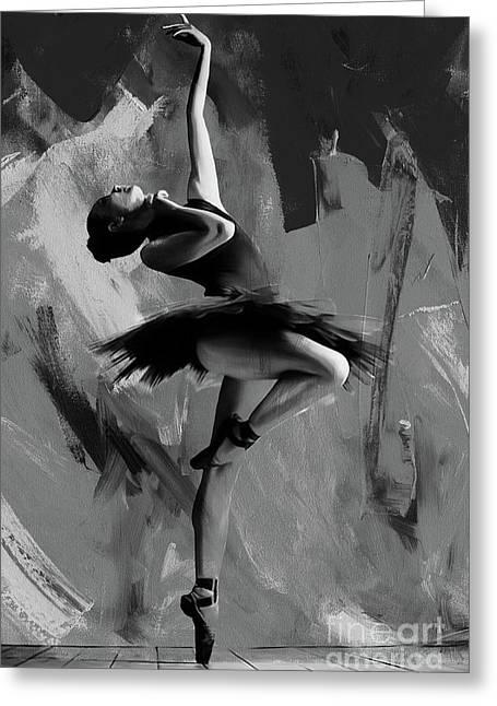Ballerina Dance 0901 Greeting Card
