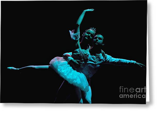 Ballet 1 Greeting Card by Reb Frost