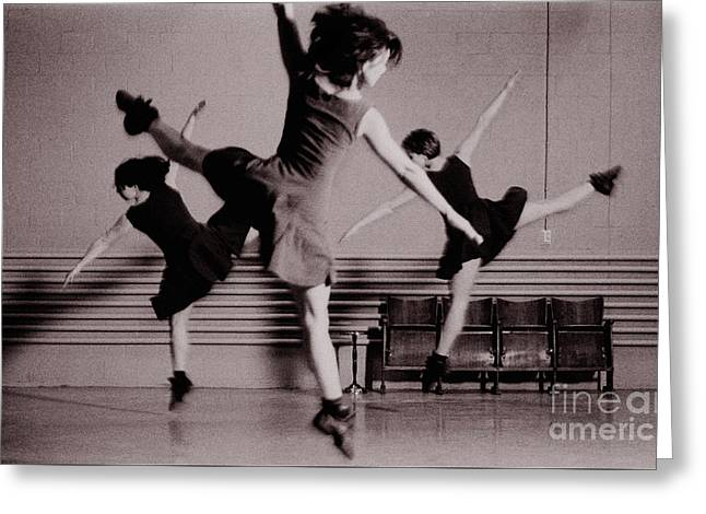 Greeting Card featuring the photograph Ballet #10 by Hans Janssen
