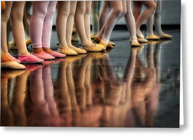 Ballet Class Greeting Card by Skitterphoto