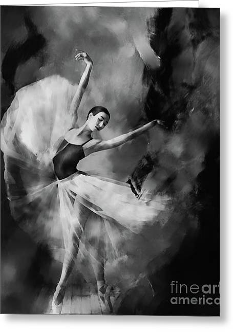 Ballet Dance 03340 Greeting Card by Gull G
