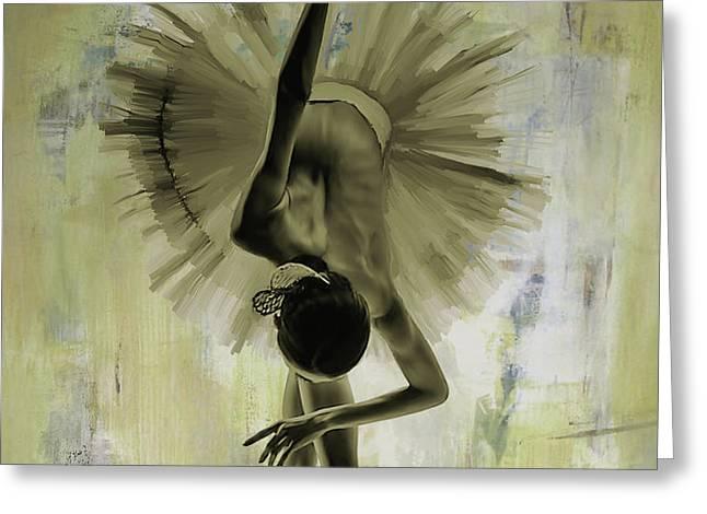 Ballet Dance 67yh Greeting Card