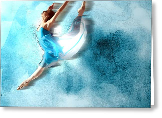 Ballet Dancer 2 Greeting Card