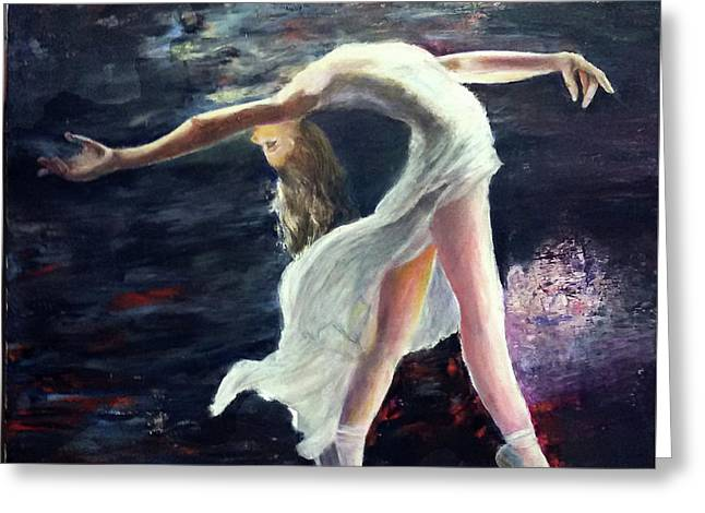 Ballet Dancer 2 Greeting Card