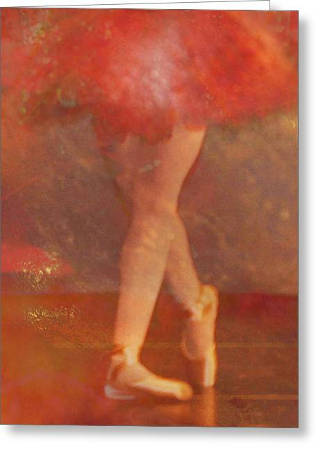 Ballet Dancer Greeting Card