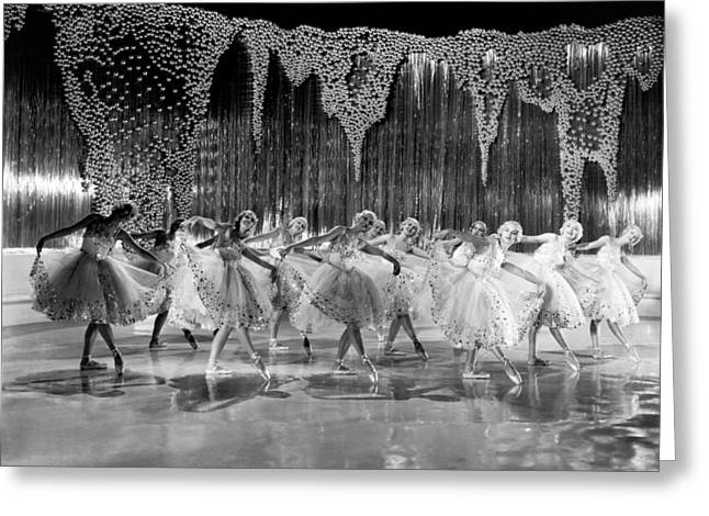 Ballet Dancers Greeting Card by Underwood Archives