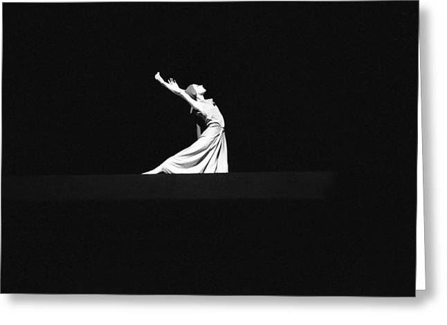 Ballet Greeting Card by Emanuel Tanjala