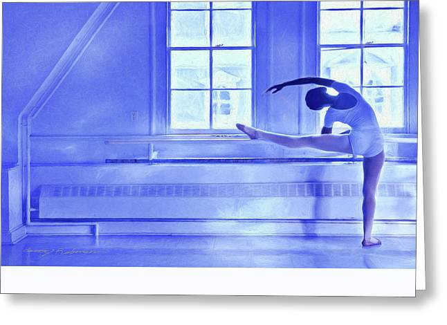 Ballet Greeting Card by George Robinson