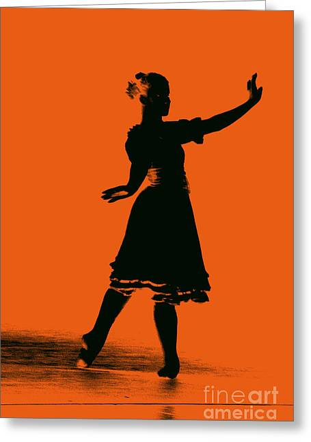 Ballet Girl Greeting Card