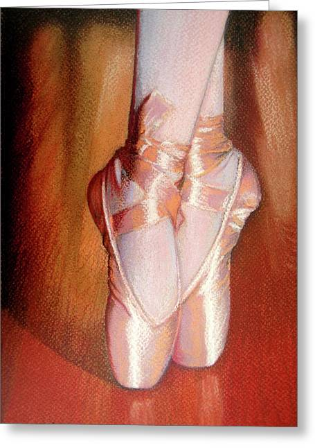 Unique Art Pastels Greeting Cards - Ballet Greeting Card by Jose Espinoza