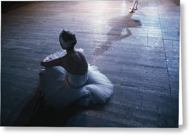 Ballet Rehearsal, St. Petersburg Greeting Card by Sisse Brimberg