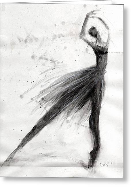 Ballet Solo Greeting Card