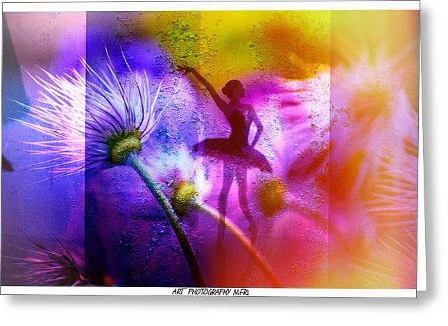 Ballett - Ballet Greeting Card by Nicole Frischlich