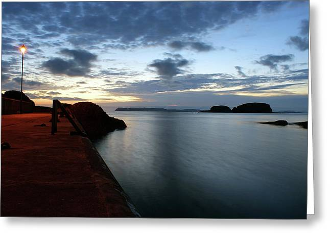 Ballintoy Dawn Greeting Card
