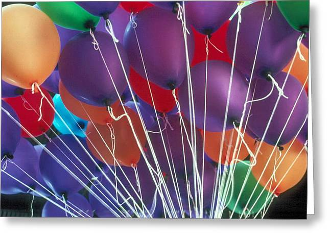 Greeting Card featuring the photograph Ballons by Douglas Pike