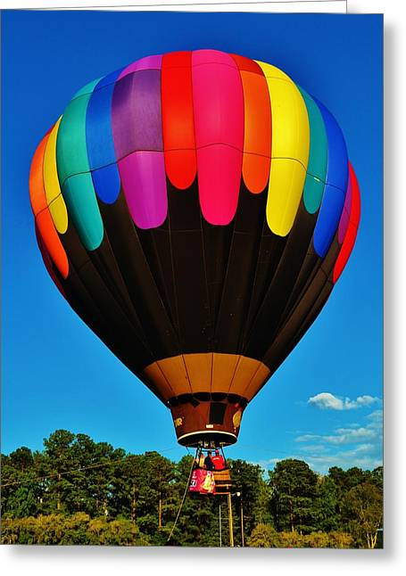 Balloon Colors Greeting Card