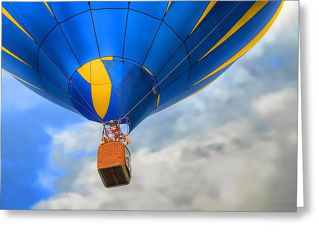 Balloon Flight Greeting Card by Dyle   Warren