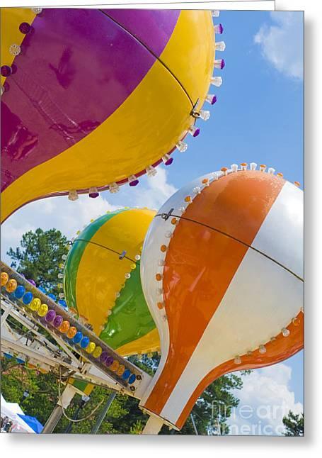 Balloon Fun Greeting Card by Maureen Norcross