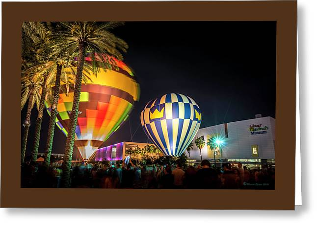 Balloons In The City Greeting Card by Marvin Spates