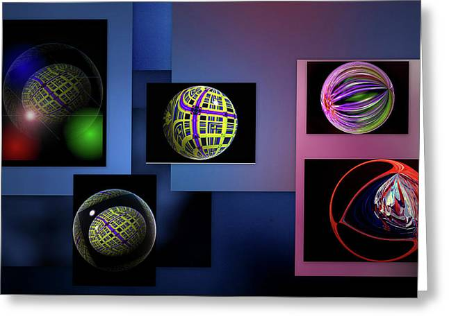 Greeting Card featuring the photograph Balls Afloat by Irma BACKELANT GALLERIES