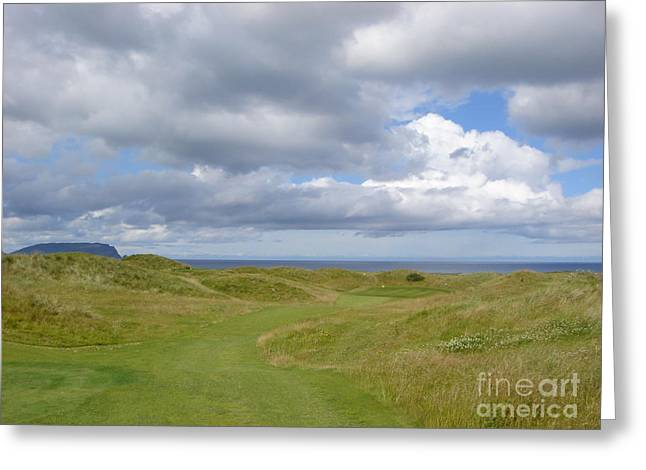 Ballyliffin Ireland Golf 1 Greeting Card