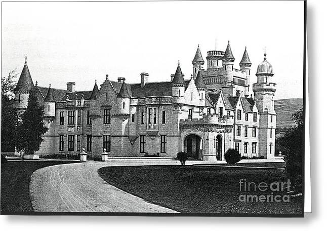 Balmoral Castle  Greeting Card by English School