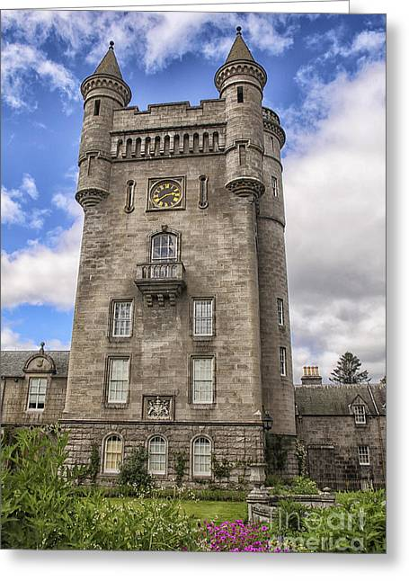 Balmoral Castle Tower Greeting Card by Patricia Hofmeester