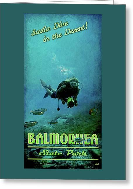 Balmorhea State Park Greeting Card