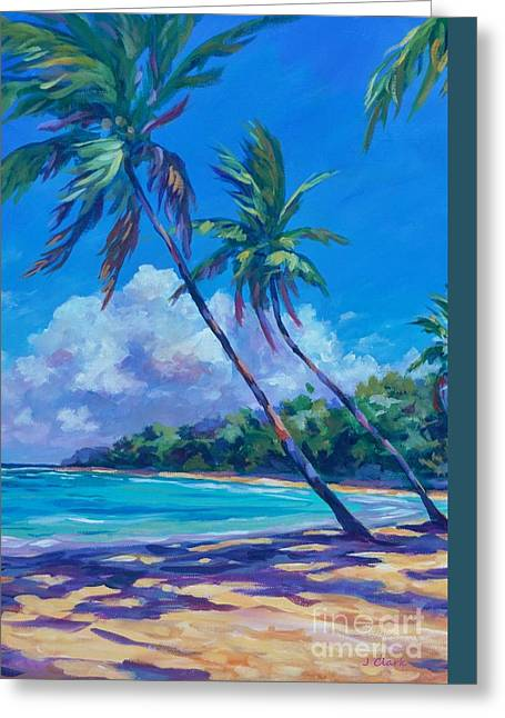 Balmy Breezes Greeting Card by John Clark