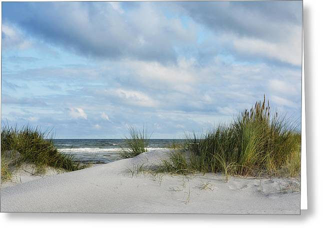 Baltic Sea Greeting Card