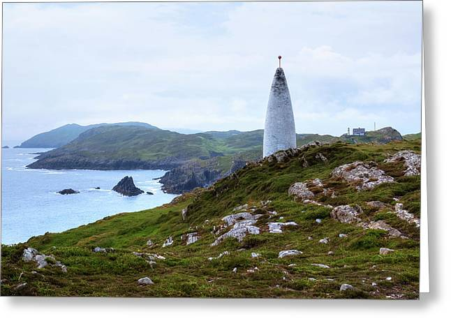 Baltimore Beacon - Ireland Greeting Card by Joana Kruse