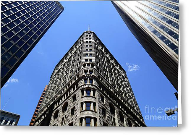 Baltimore Fidelity Building Greeting Card