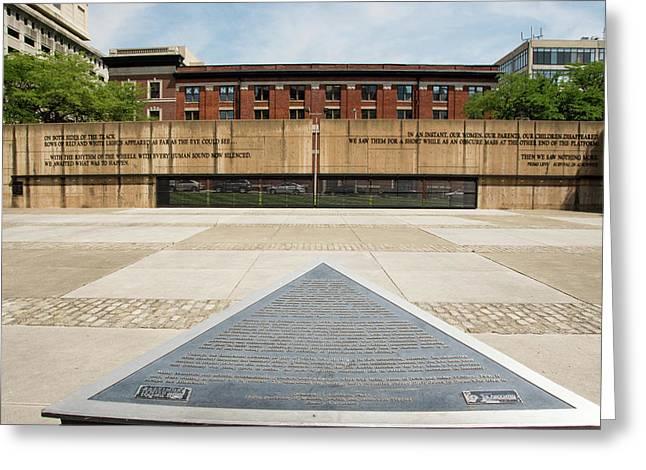 Baltimore Holocaust Memorial Greeting Card