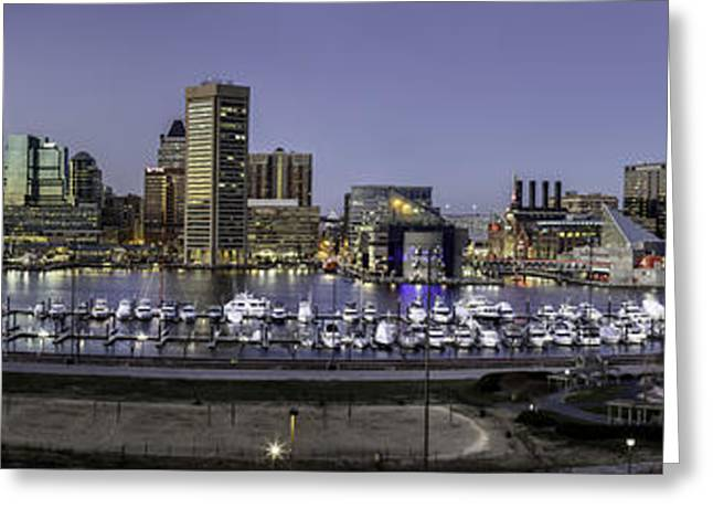 Baltimore Inner Greeting Card by Eduard Moldoveanu