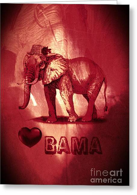 Bama Greeting Card
