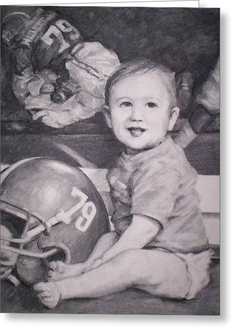 Bama Player's Son Greeting Card