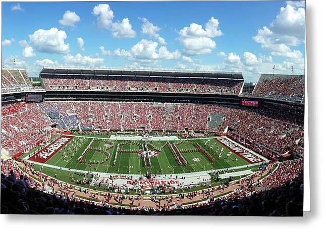 Bama Spell-out Panorama Greeting Card