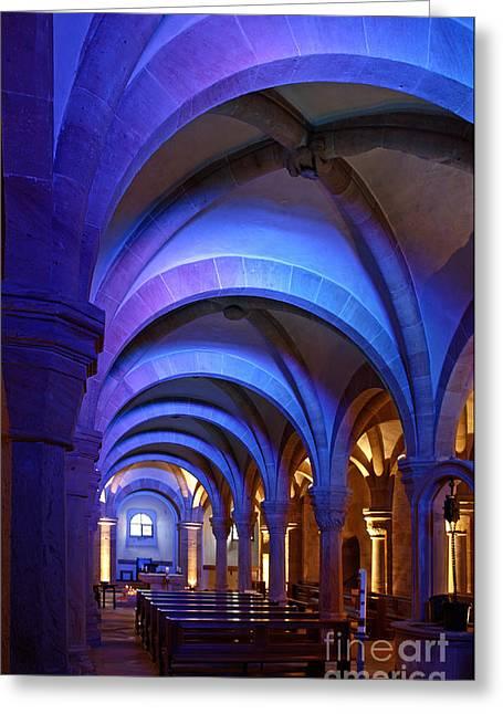 Bamberg Cathedral, Bavaria Greeting Card