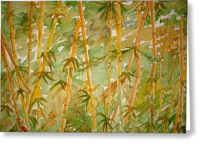 Bamboo Jungle Greeting Card