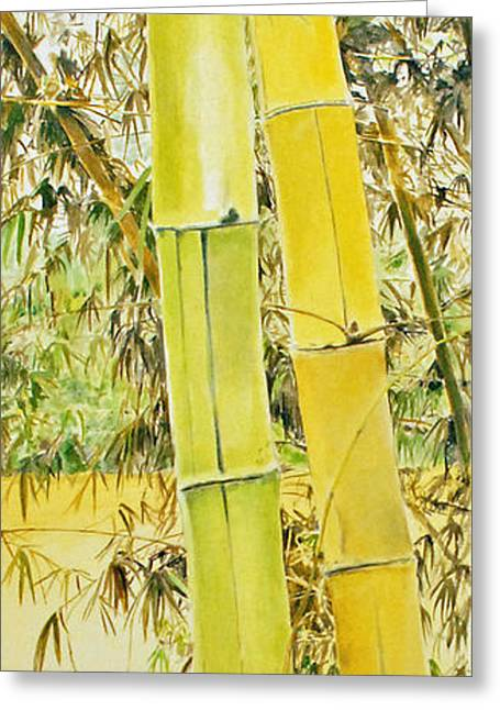 Bamboo Greeting Card by Rainer Jacob