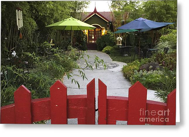 Bambu Tea House Greeting Card
