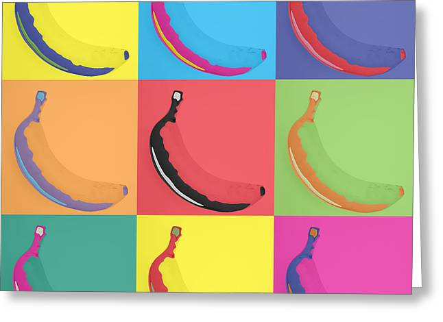 Banana 29 Greeting Card by Flo Ryan