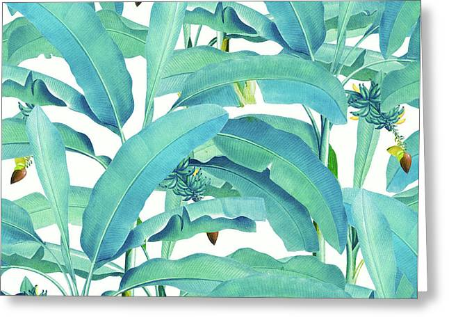 Banana Forest Greeting Card
