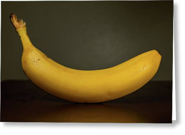 Banana In Elegance Greeting Card